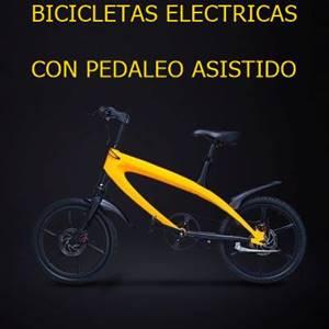 Bicicletas eléctricas con pedaleo asistido.